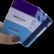 Cartão com Tarja Magnética PVC