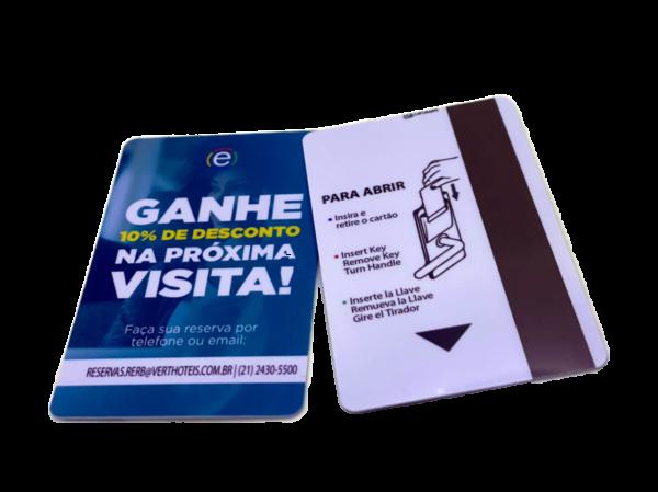 Cartão com Tarja Magnética PVC ou Banda Magnética