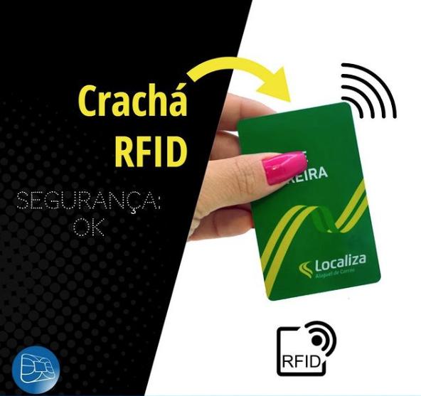 Crachá RFID maior segurança para sua empresa