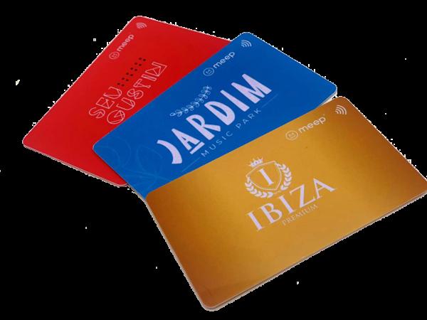 Cartão de consumo RFID Cashless