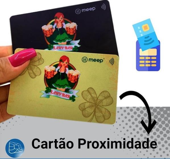 Cartão de consumo sem contato! Cashless
