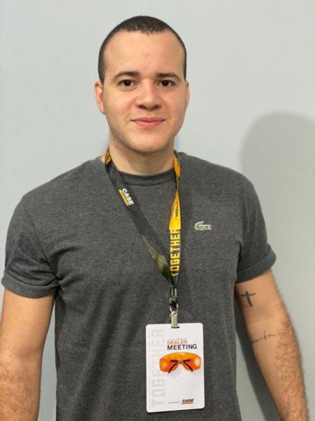 Crachá PVC atendimento virtual Covid