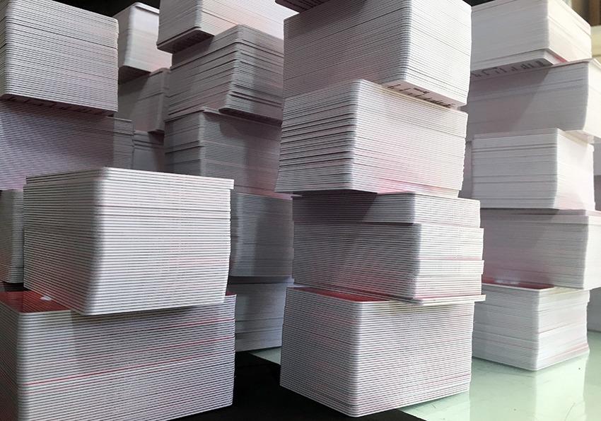 Carteirinha para prédios comerciais PVC preço em Belo Horizonte
