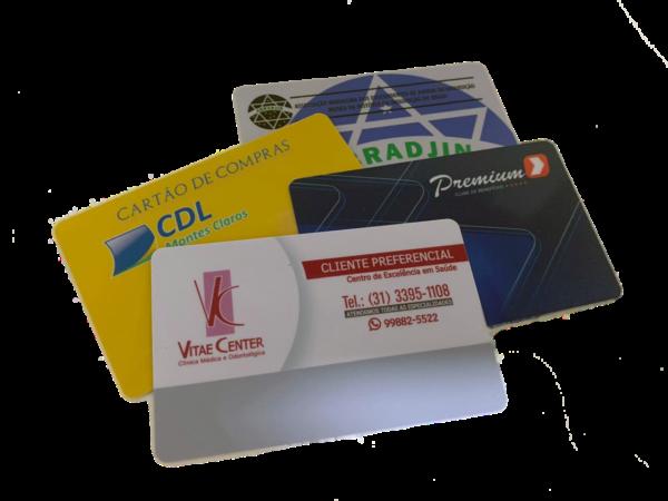 Carteirinha para instituições de ensino PVC preço em BH