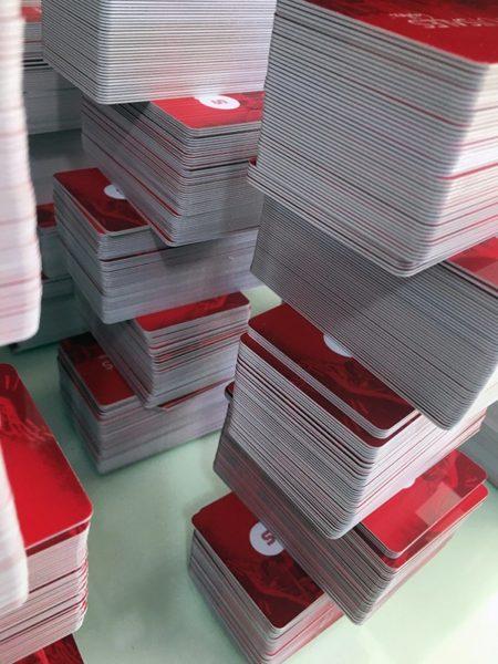 Fabricante de cartões com chip