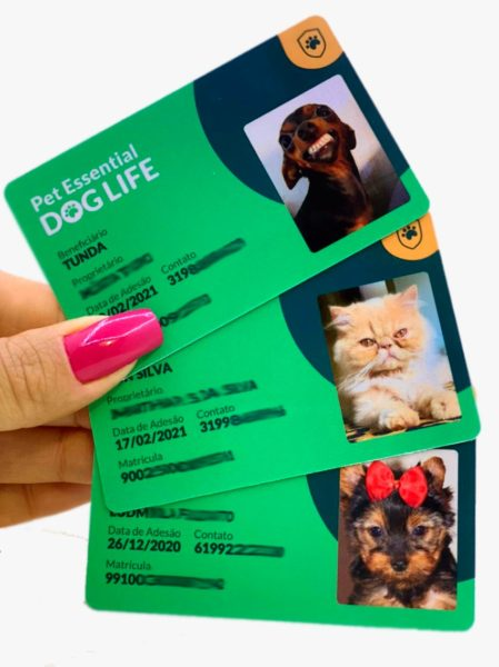 Crachá para plano de saúde Pet Belo Horizonte