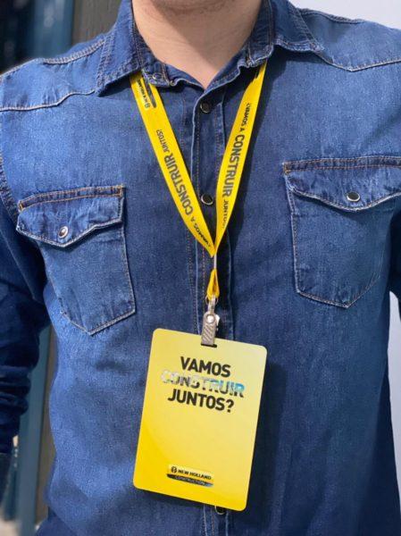 Crachá e cordões personalizado Belo Horizonte MG
